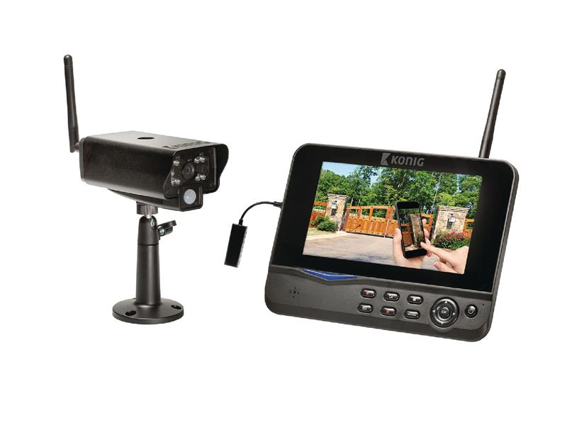 "Kamera set KÖNIG SAS-TRANS62 7"" LCD digitální"