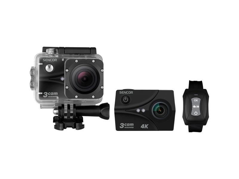 Kamera akční SENCOR 3CAM 4K50WRB