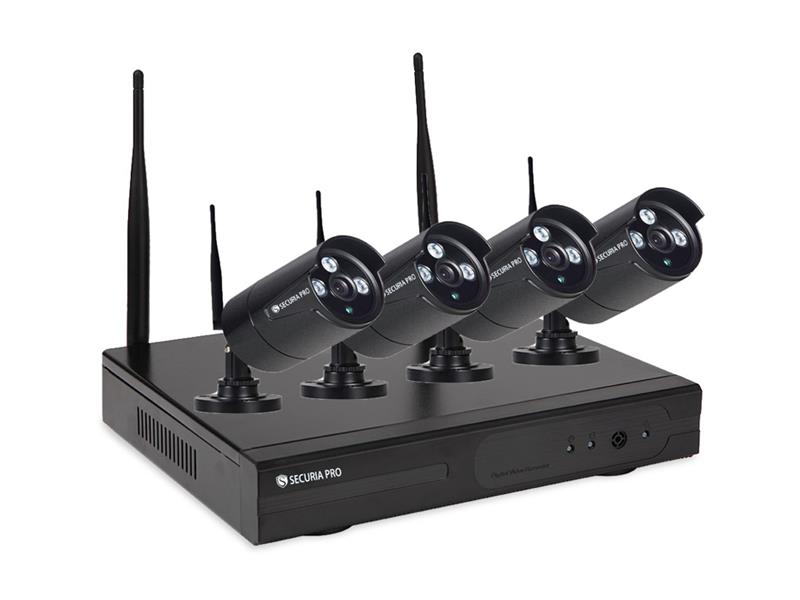 Kamera set SECURIA PRO WIFI4CHV1-B DVR