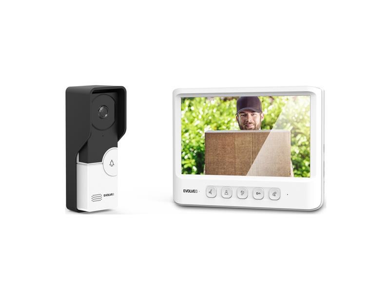 Videotelefon EVOLVEO DOORPHONE IK06 s pamětí a barevným displejem