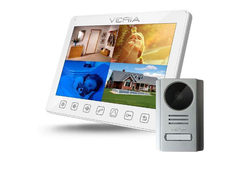 Videotelefon VERIA 7090B bílý + VERIA 229