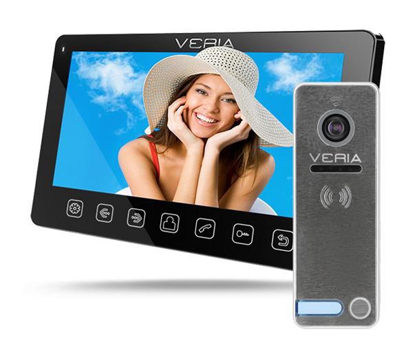 Videotelefon VERIA 7070C černý + VERIA 230