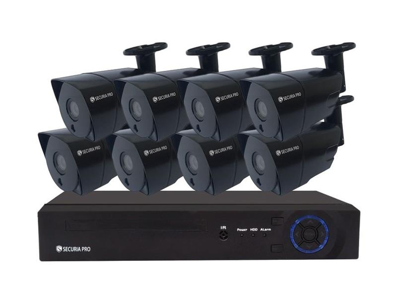 Kamerový systém SECURIA PRO NVR8CHV5-B