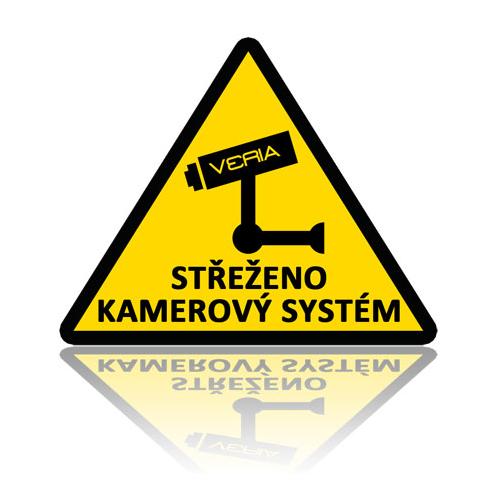 Samolepka - Střeženo kamerový systém