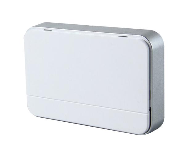 SOLIGHT 1L41 Zvonek domovní bezdrátový, 2xAA baterie, nastavení hlasitosti, bílý