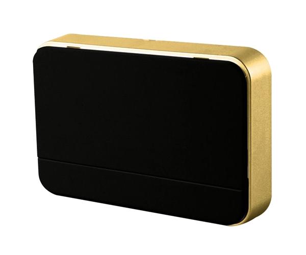 SOLIGHT 1L41B Zvonek domovní bezdrátový, 2xAA baterie, nastavení hlasitosti, černý