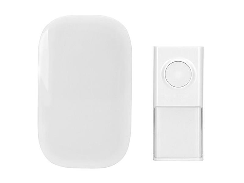 Solight bezdrátový zvonek, do zásuvky, 150m, bílý, learning code 1L43