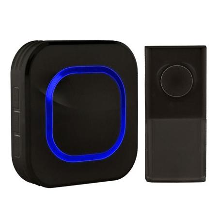 Zvonek domovní bezdrátový 1L49B černý