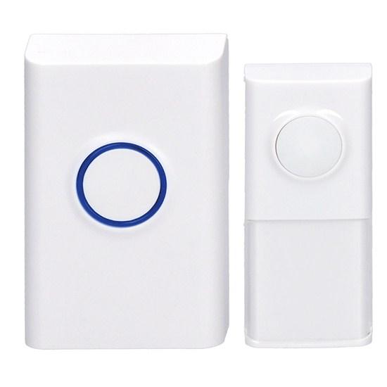 Zvonek domovní bezdrátový 1L55 bílý