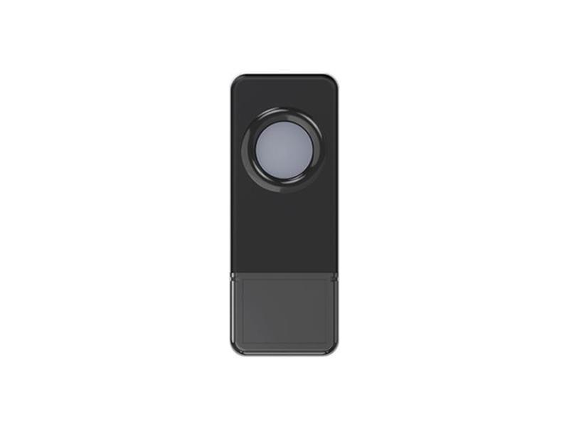 Tlačítko bezdrátové GETI pro GWD sérii zvonků černá