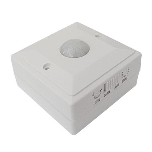 PIR senzor (pohybové čidlo) nástěnné ES205 110st. + vypínač