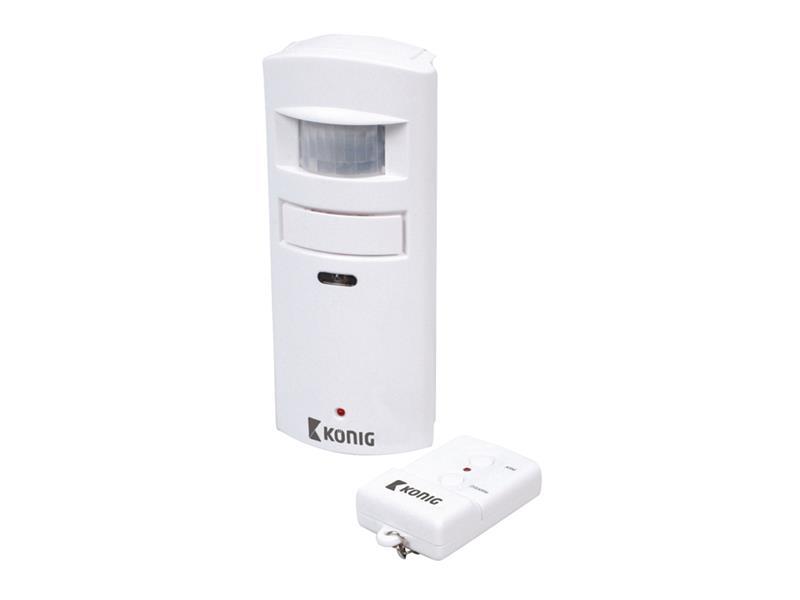 Detektor pohybu s alarmem 130 dB KÖNIG SAS-APR10
