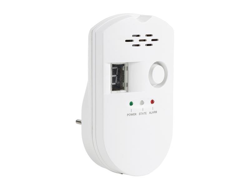 Detektor LPG, zemního plynu a svítiplynu KÖNIG SAS-GD100