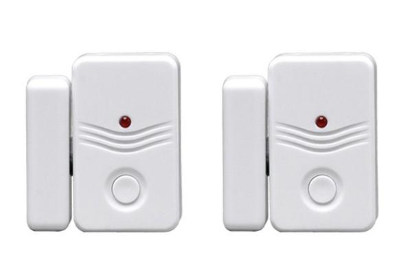 Alarm domovní bezdrátový GSM 1D15 - doplňkové dveřní / okenní senzory 2ks pro GSM alarmy 1D11/1D12
