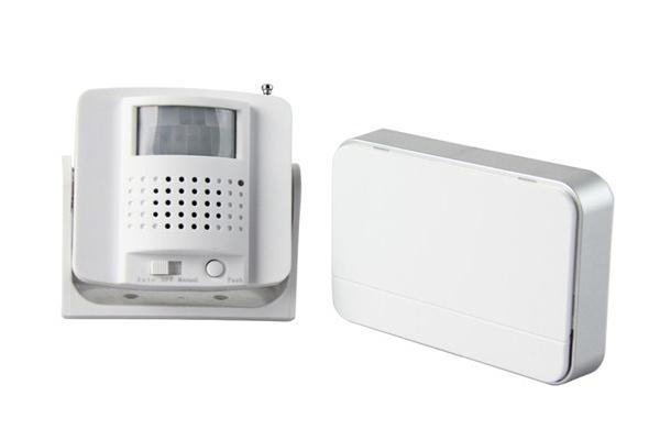 Hlásič pohybu/gong bezdrátový 1D05, bateriový, externí pir čidlo