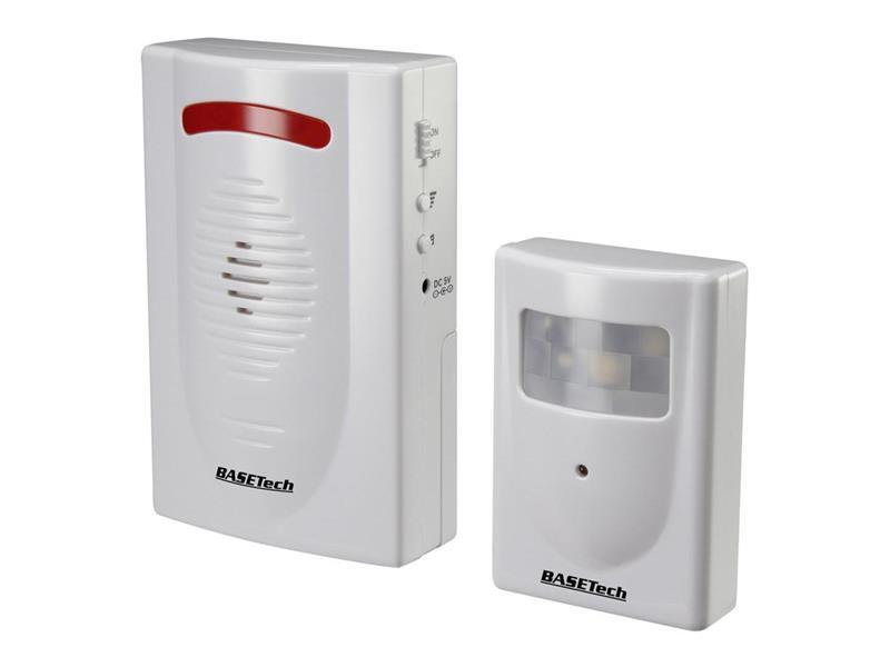 Hlásič průchodu Basetech RL-600, 120 dB