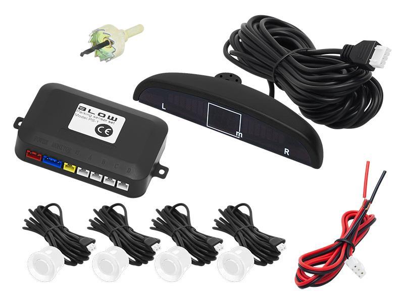 Parkovací senzory BLOW 3662 PS-1 WHITE