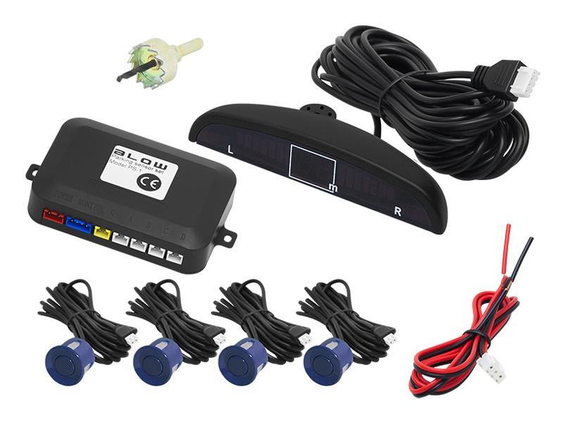 Senzory parkovací BLOW PS-1 BLUE 22 mm