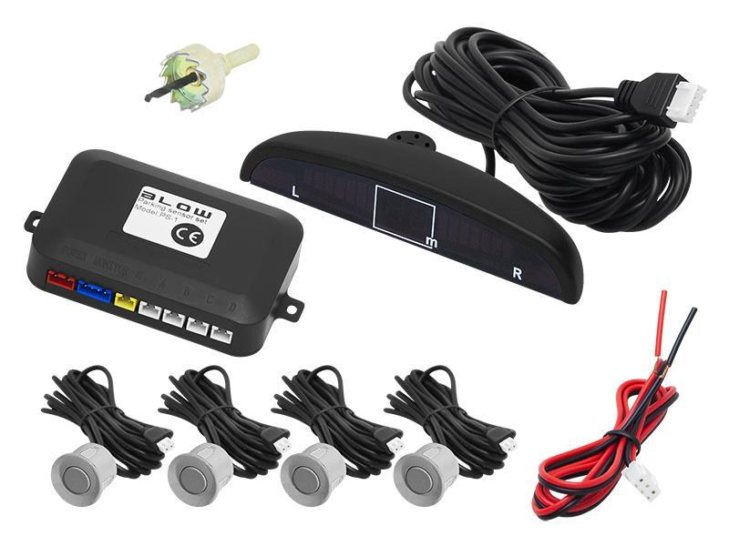 Senzory parkovací BLOW PS-1 SILVER 22 mm