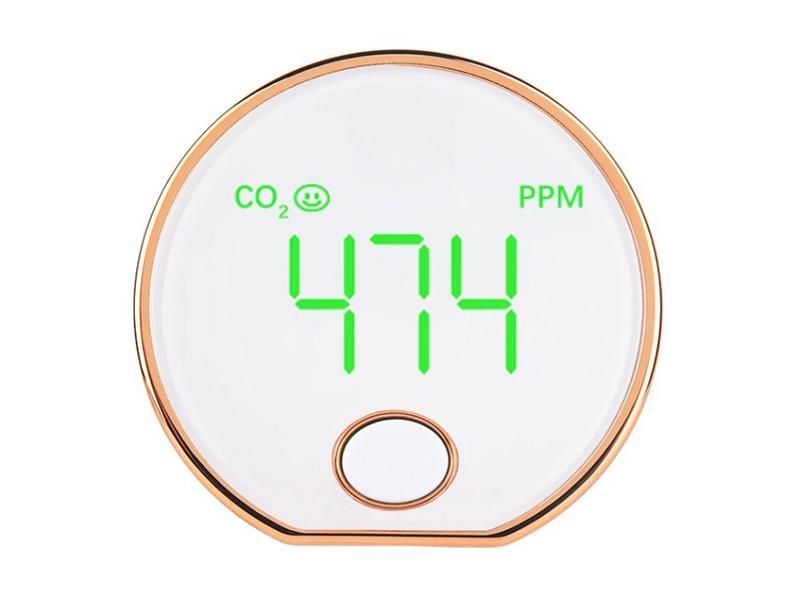 Detektor plynu HUTERMANN CO2-401oxidu uhličitého, Měřič 'vydýchanosti vzduchu'