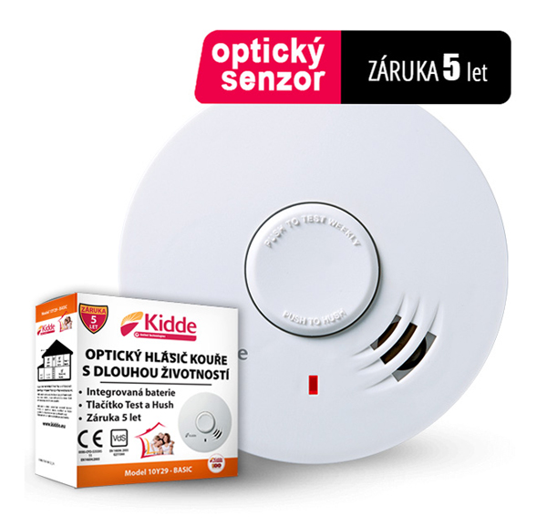 Detektor kouře KIDDE 10Y29 BASIC
