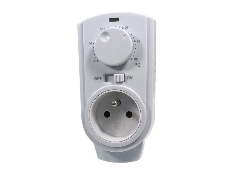 Zásuvkový termostat TH-926T analogový