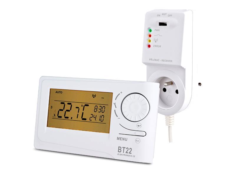 Termostat bezdrátový BPT22 ELEKTROBOCK