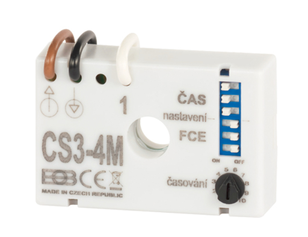 ELEKTROBOCK multifunkční časový spínač CS3-4M