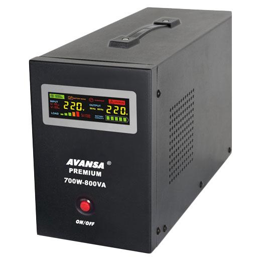 Záložní zdroj pro oběhová čerpadla AVANSA UPS 700W 12V