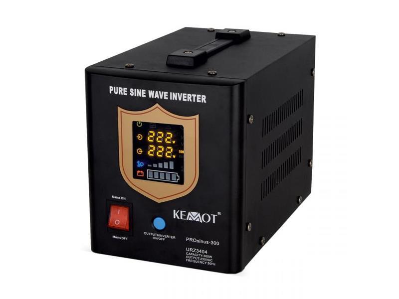 Zdroj záložní KEMOT PROsinus 300W 12V