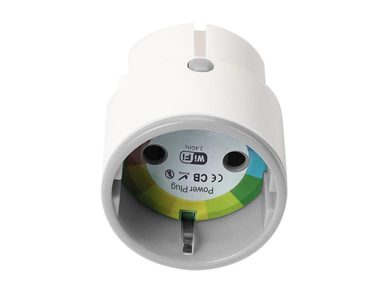 Zásuvka WIFI dálkově ovládaná s časovačem a měřením spotřeby Hutermann SW02