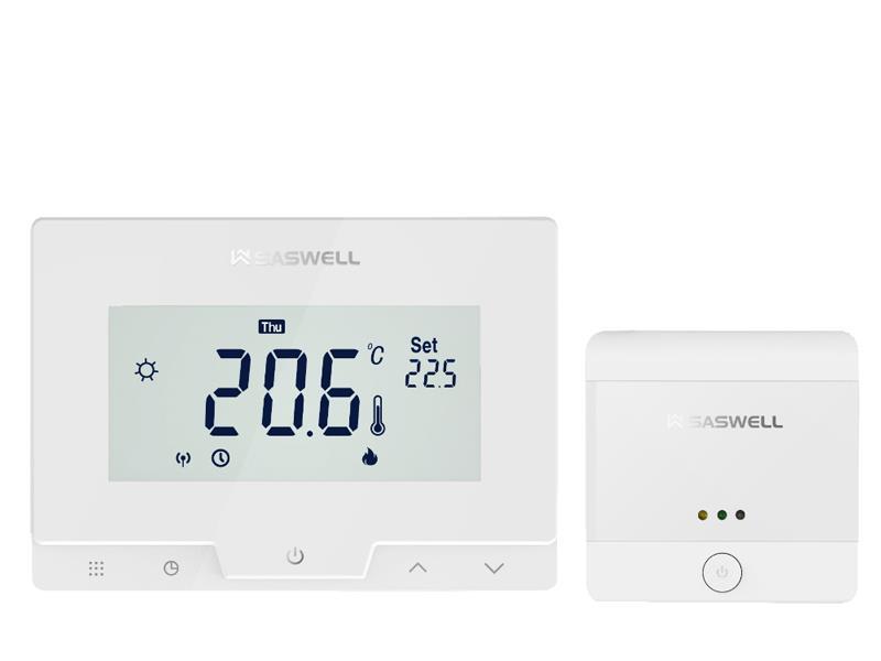 Termostat SASWELL T19 7 RF W bezdrátový