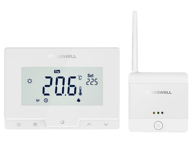 Termostat SASWELL T19 7 RF W -APP bezdrátový