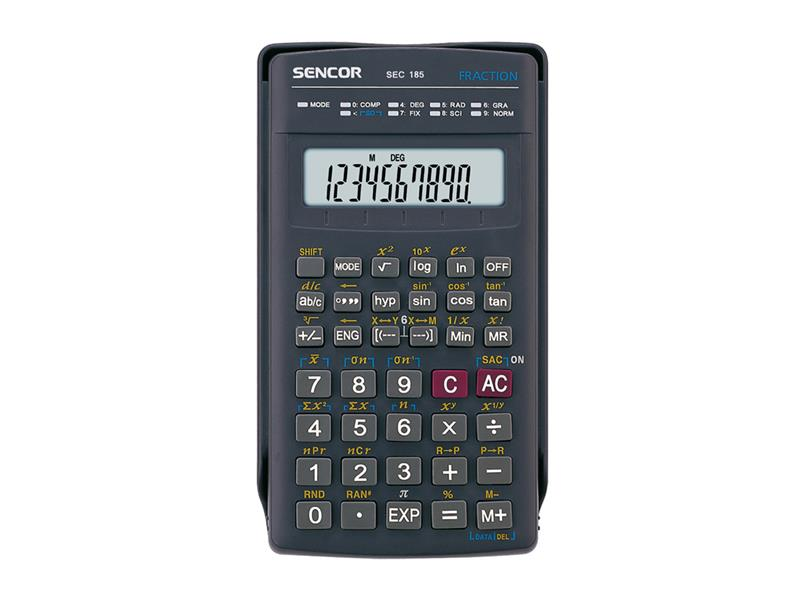 Kalkulačka vědecké funkce SENCOR SEC 185