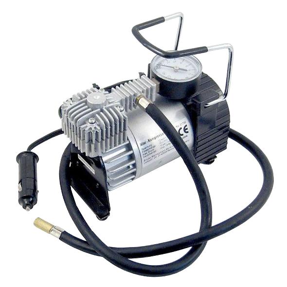 Kompresor 12V/10Bar kovový  30l/min