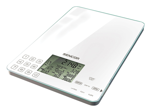 Váha kuchyňská SENCOR SKS 6000 dietetická
