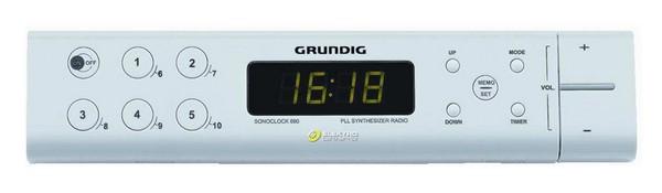 Radiopřijímač GRUNDIG SONOCLOCK 690 kuchyňské