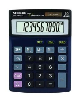 Kalkulátor stolní SENCOR SEC 393/ 10E DUAL (EURO)