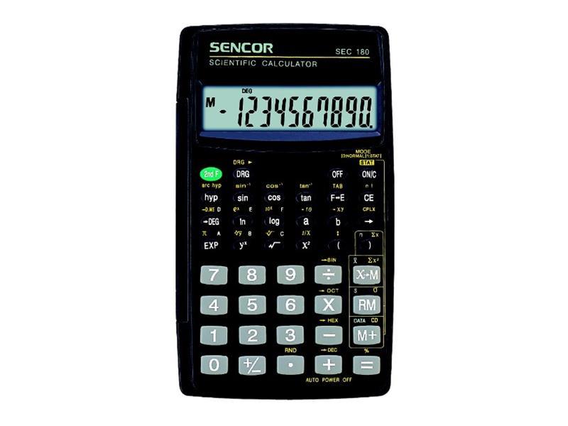 Kalkulátor školní SENCOR SEC 180