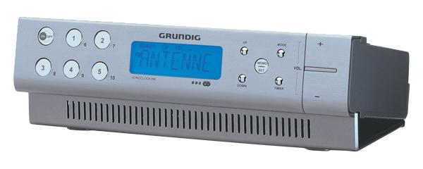 Rádio GRUNDIG SONOCLOCK 890 AL kuchyňský