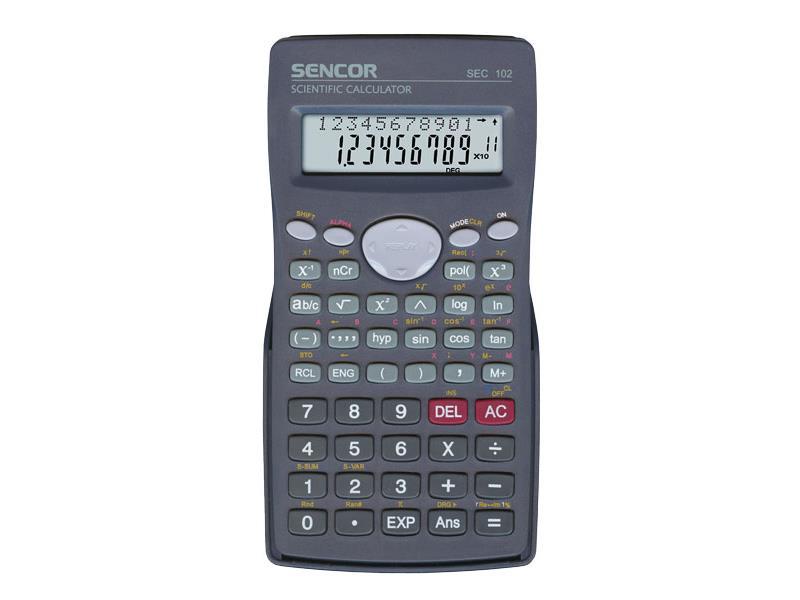 Kalkulátor školní SENCOR SEC 102