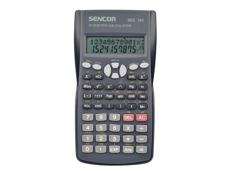 Kalkulátor školní SENCOR SEC 183
