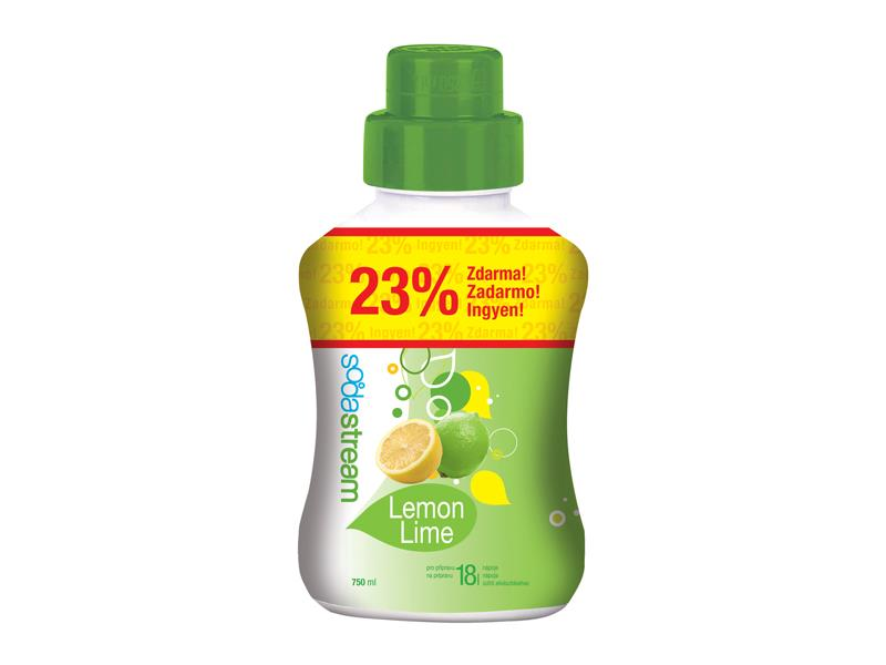 Sirup SodaStream lemon lime 750ml