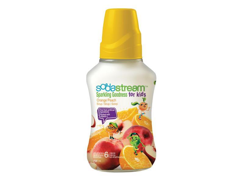 Sirup SodaStream 750ml Orange Peach Good-kids
