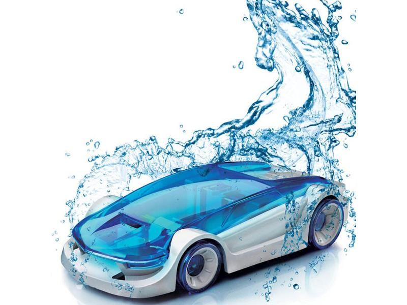 Smart Salt Water Powered Car