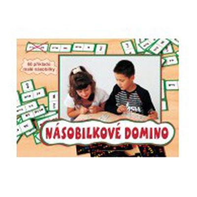 Hra vzdělávací Domino násobilkové