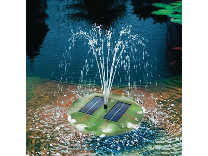 Esotec Plovoucí solární ostrůvek s vodotryskem 08850939