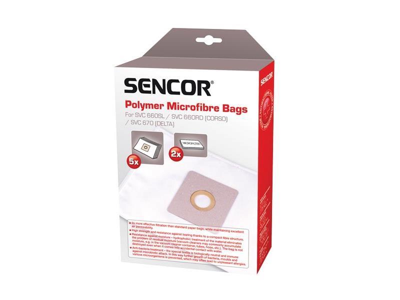 Sáčky do vysavače SENCOR SVC 660/670 Micro