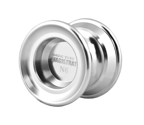 Yoyo N6 Magistrate stříbrné