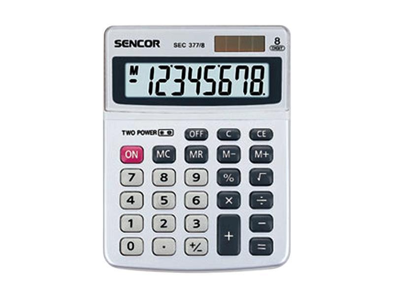 Kalkulátor stolní SENCOR SEC 377/8 DUAL